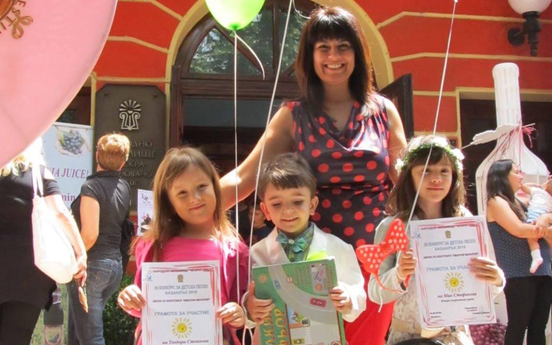 Петгодишен малчуган спечели първа награда в музикален конкурс