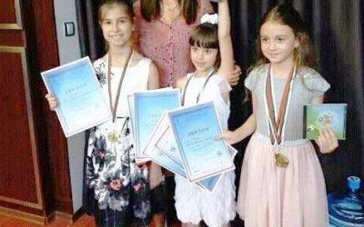 """8-годишната Мая Маринова с Гран при от конкурса """"Гласовете Ви чувам"""""""