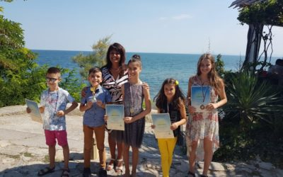 """Гранпри и шест медала спечелиха децата на ,,Елита"""" от международен конкурс"""